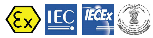 ATEX, IECEx and PESO Approved Products for Hazardous Areas