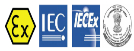 ATEX, IECEx and PESO Logo