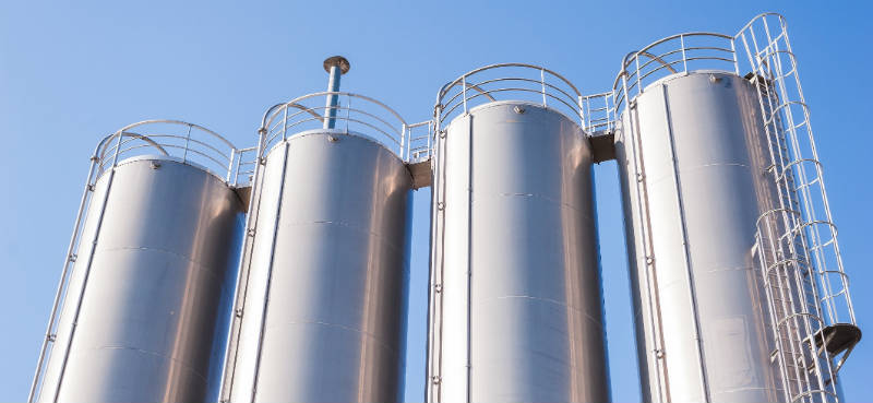 Silos with Thames Side load cells
